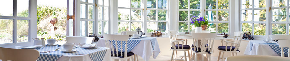 Dining room at Landseer House Guest House